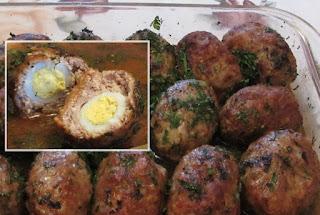 готовые котлеты с перепелиными яйцами