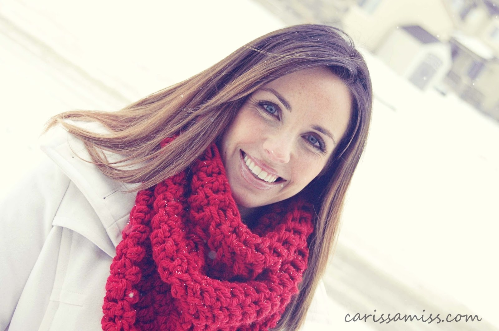 Crochet Infinity Scarf Tutorial Carissa Miss