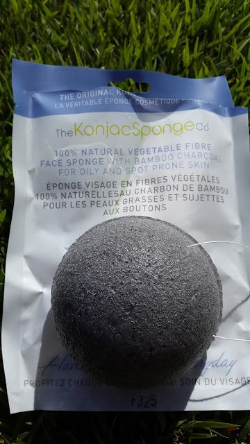 The Original Konjac Puff Sponge Bamboo Charcoal www.modenmakeup.com