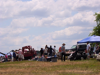 400 Mile Yard Sale on a hilltop near Hopkinsville