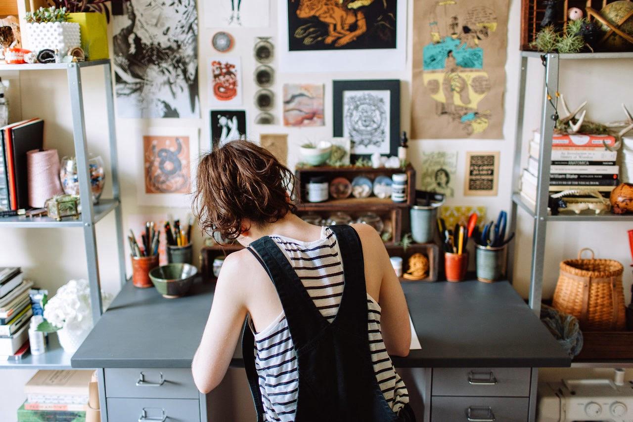 Art Studio Design Ideas For Small Spaces