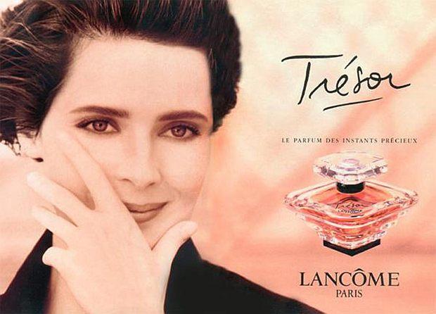 Jedna z pierwszych reklam Lancome Tresor
