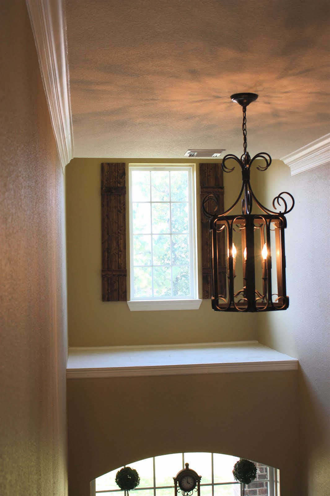 Foyer Window : From my front porch to yours diy rustic shutters new
