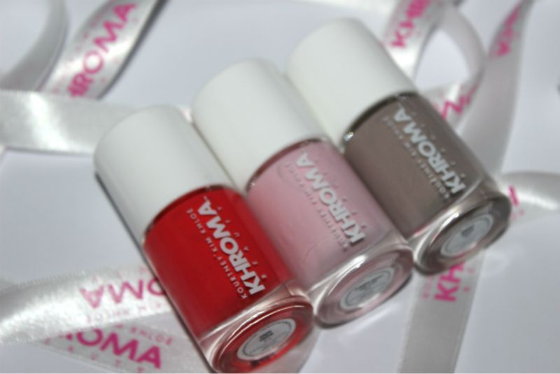 New Khroma Beauty Nail Laquers Review | The Sunday Girl
