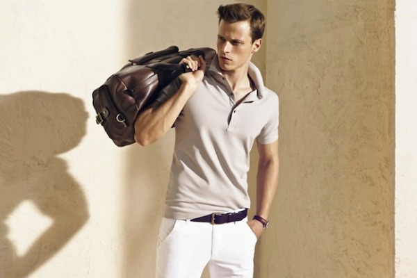 Massimo Dutti Menswear June 2012 Lookbook- photo1