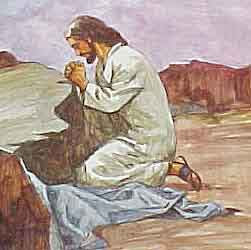 Cristo orando