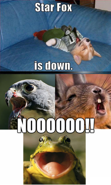 Star Fox Is Down - Noooooo!