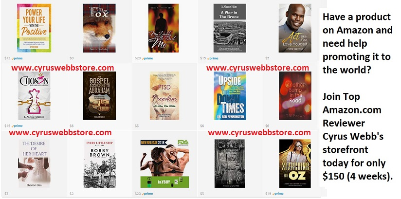 Introducing Cyrus Webb's Amazon Storefront