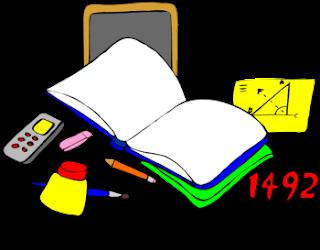 Dibujo para imprimir de matematicas y lenguaje