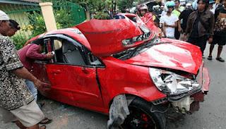 Kecelakaan Honda Jazz di Makassar, Bocah SMP Tabrak 15 Orang