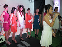 The 10 finalist competing in Haba's beauty contest