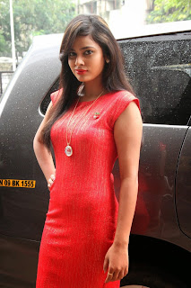 Actress Nandita Latest Pictures in Short Dress at Micromini Smartphone Launch 46