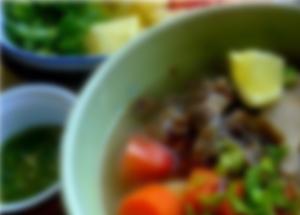 Nikmatnya Sup Buntut di Grand Hyatt Hotel - Best Taste Oxtail Soup In Jakarta