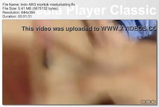 Indo ABG montok masturbating