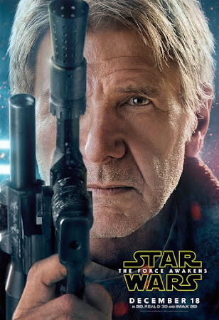 Poster Of Star Wars The Force Awakens Full Movie in Hindi Download Free Watch Online 450MB PDVDScr