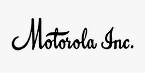 Motorola logo in 90s