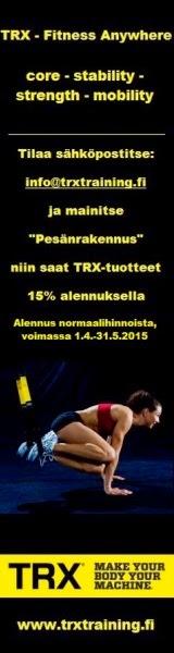 TRX - LAITTEET TÄÄLTÄ!