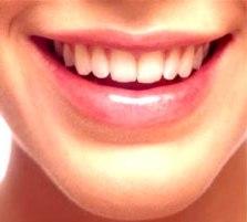 Fresh and white teeth