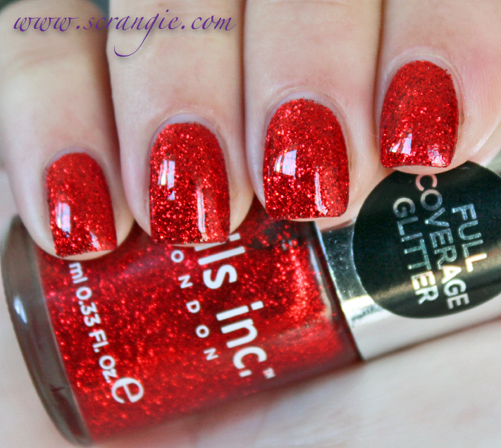 Scrangie Nails Inc The After Party Glitter Nail Polish Trio