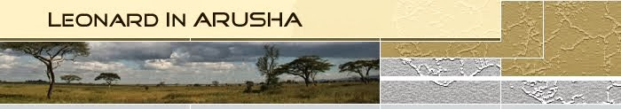 Leonard in Arusha
