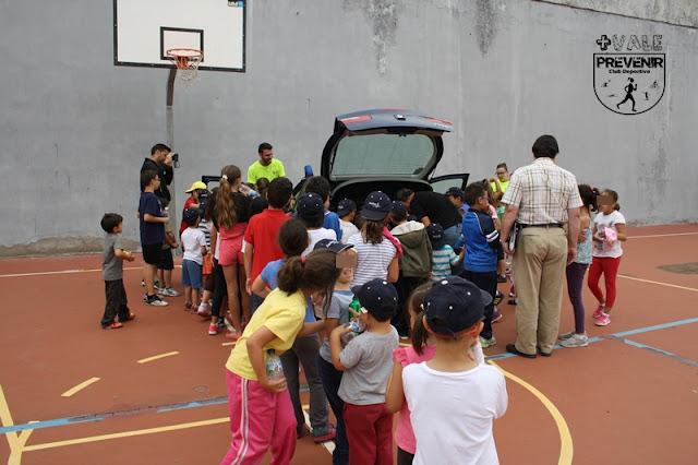 visita y charla policia nacional escuela verano arucas