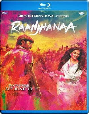 Raanjhanaa 2013 Hindi BluRay 480p 400mb