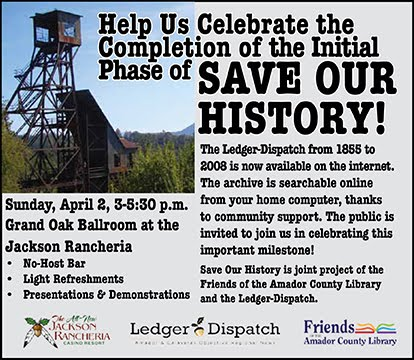 """Save Our History"" Celebration - Sun Apr 2"