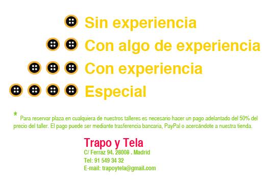 Monográficos Mayo Trapo y Tela