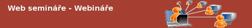 Web semináře - webináře
