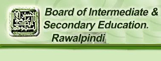 Board of Intermediate and Secondary Education, Rawalpindi
