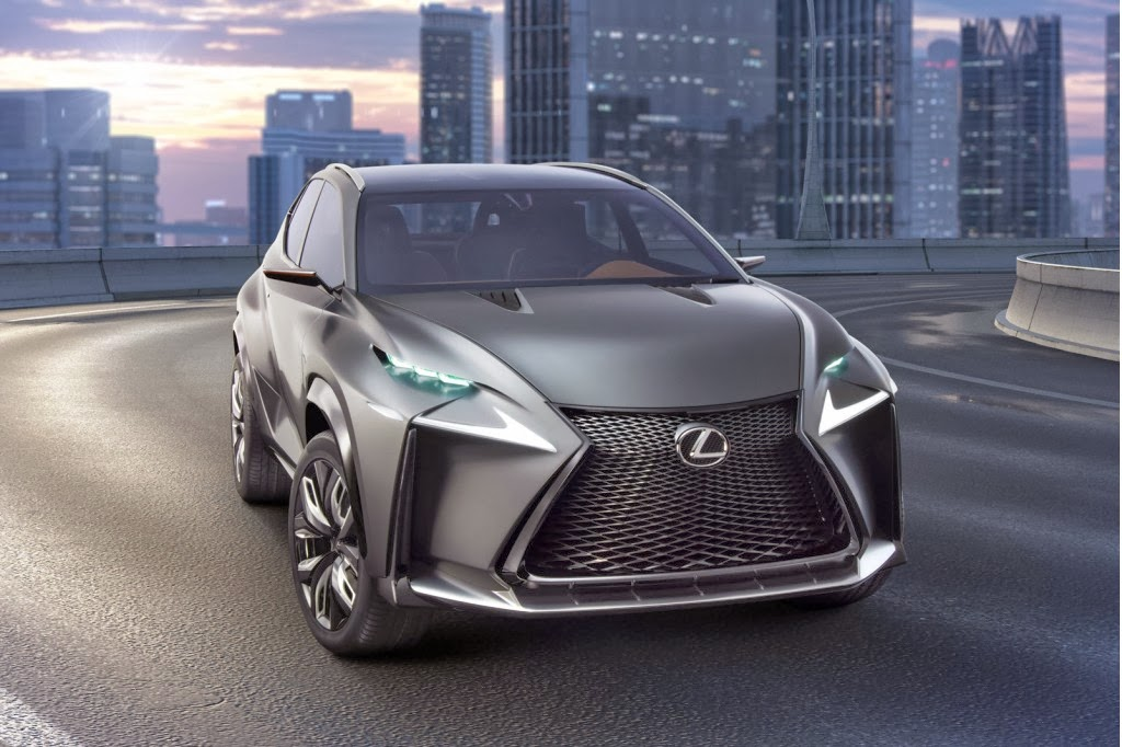 Named NX, It Is The Production Ready Model Derived From The LF NX Concept  Vehicle Introduced ...