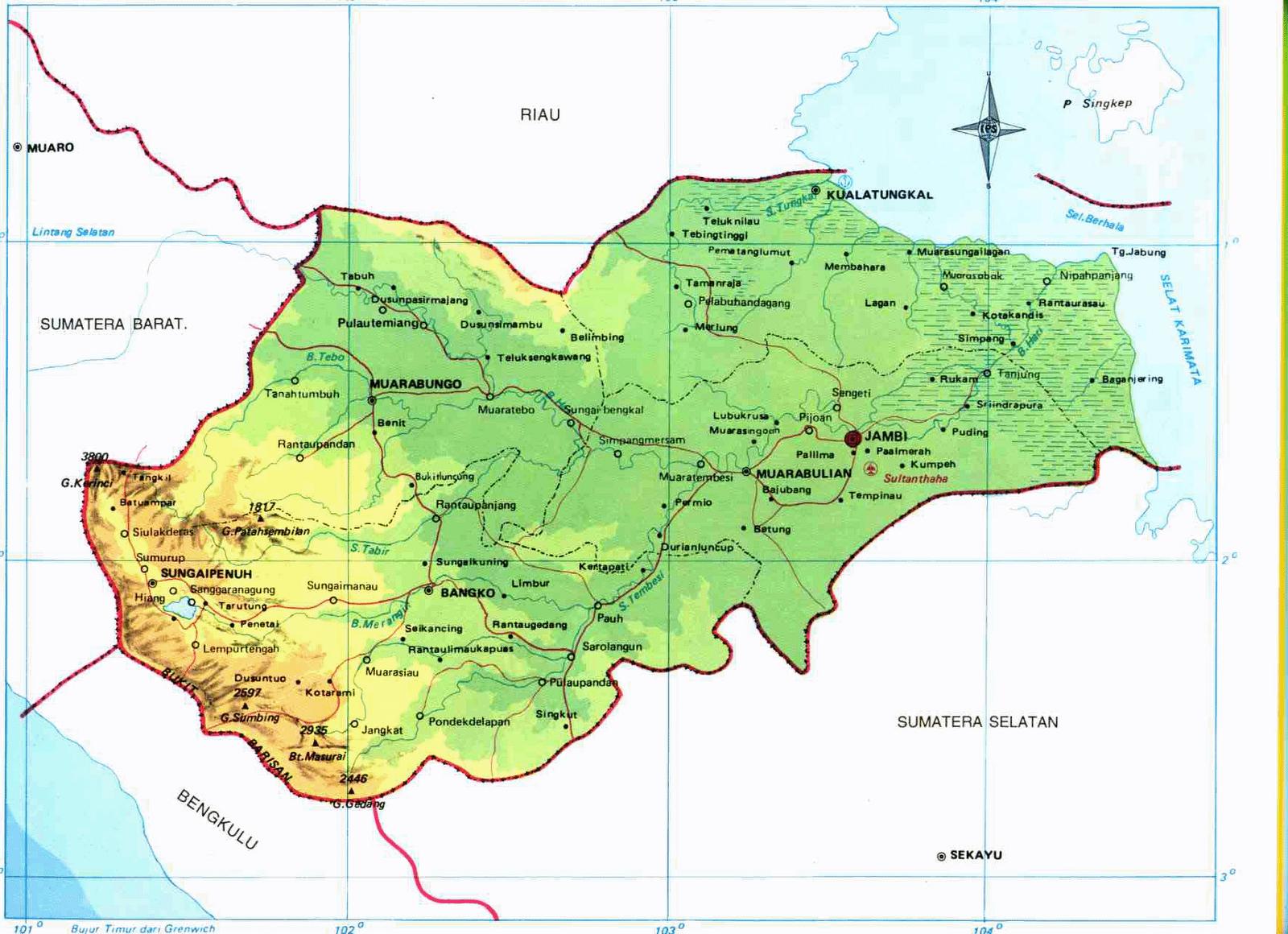 Peta Lengkap Indonesia June 2015