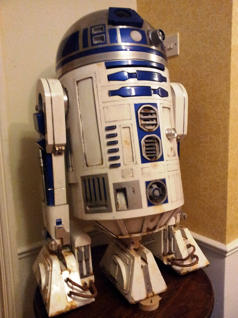 R2d2 how to build a life sized autonomous real r2 d2 - Robot blanc star wars ...
