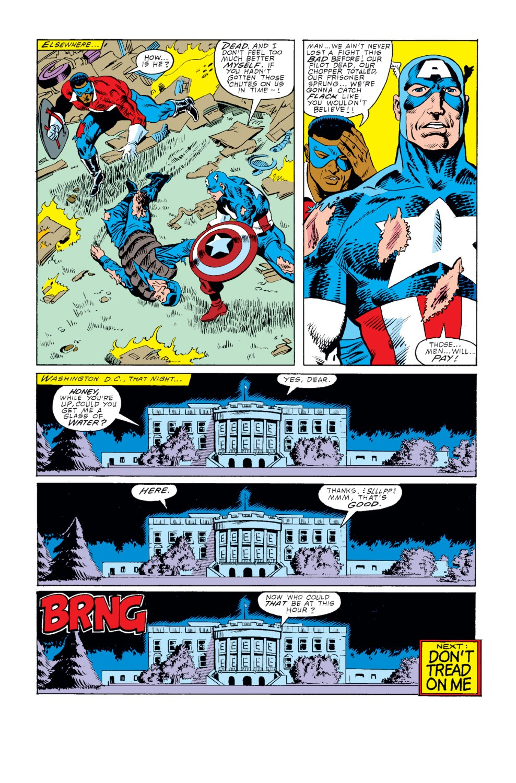 Captain America (1968) Issue #343 #273 - English 23