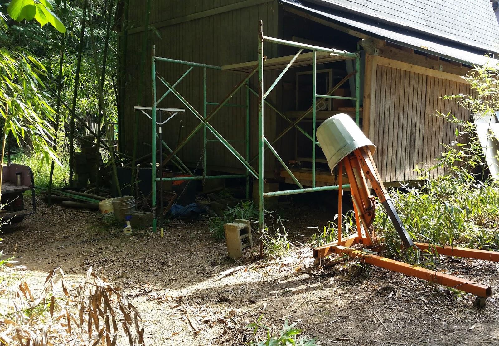 Backyard Forge minimum expectations: backyard forge up and running . . . kinda