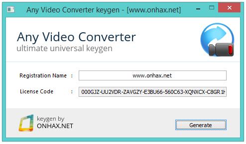 Any dvd converter pro crack