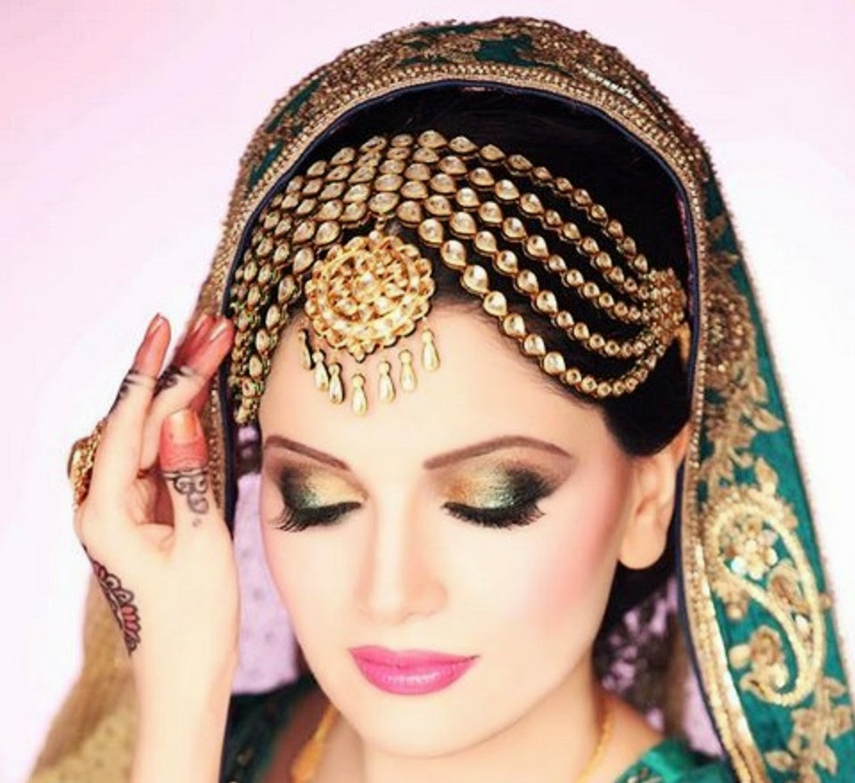 New And Most Beautiful Dulhan Walima Makeup Image Download HD ...