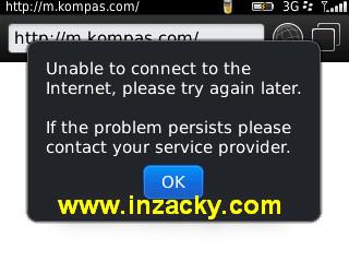 Blackberry Tidak Bisa Browsing