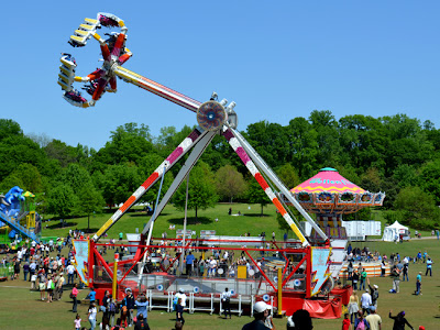 Atlanta Dogwood Festival rides