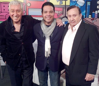 Tulio Loza junto a Oswaldo Cattonne y Hector Felipe