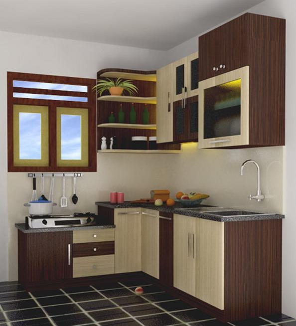 Reka Bentuk Dapur Minimalis Untuk Rumah Mungil