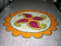 Happy Makar Sankranti Hand made Rangoli's Photos