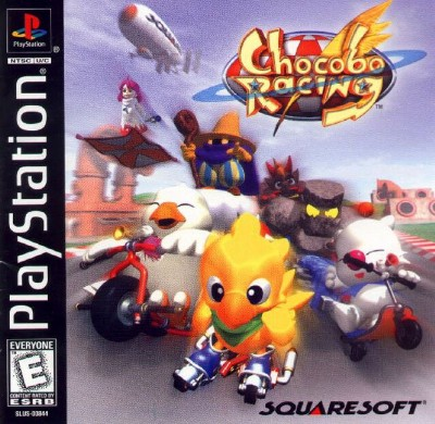 Chocobo Racing [PSX-PSP][NTSC/US] Coveryyyui