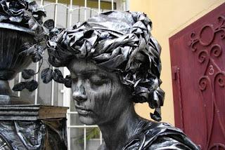 Statue Makeup Photos