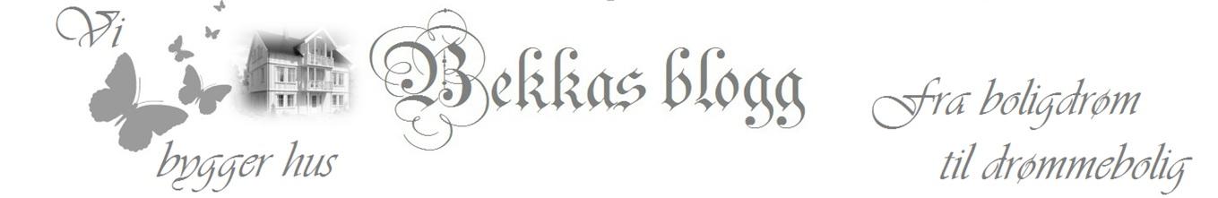 Bekkas blogg
