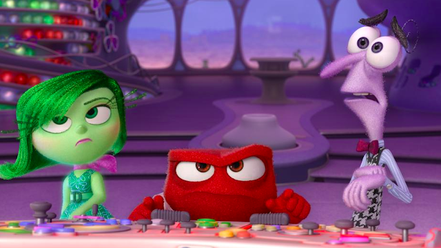 Disney Pixar Inside Out - Disgust, Anger and Fear