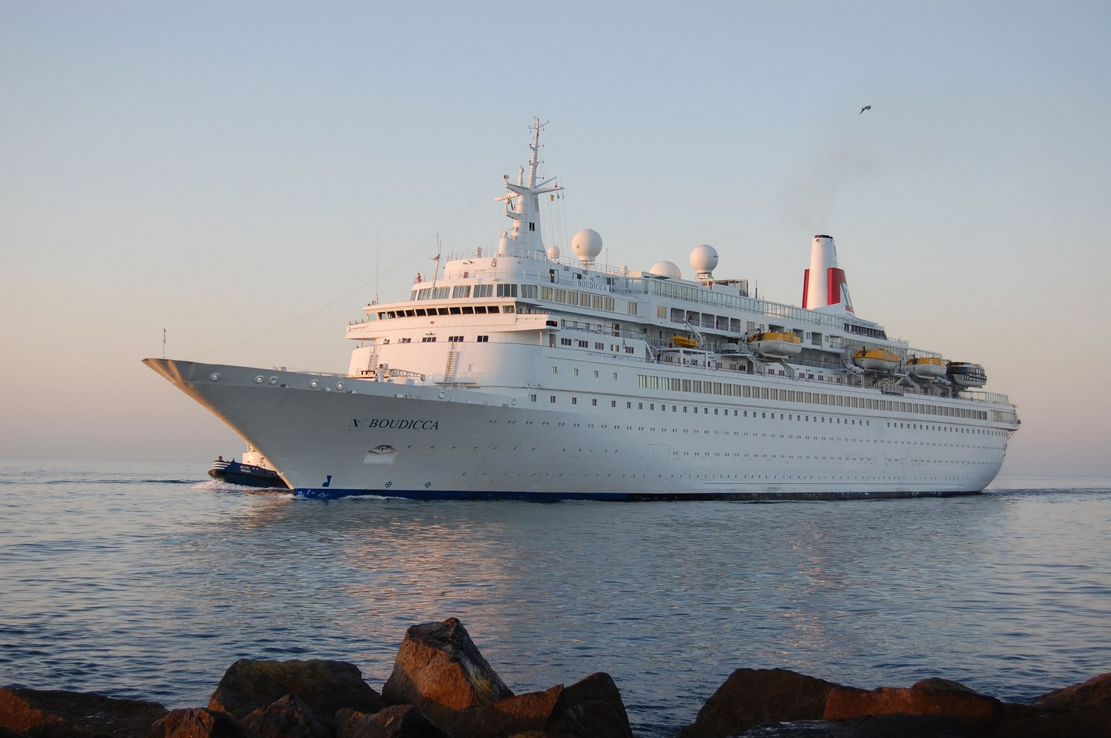 Boudicca Itinerary Schedule Current Position Cruisemapper | Lobster House