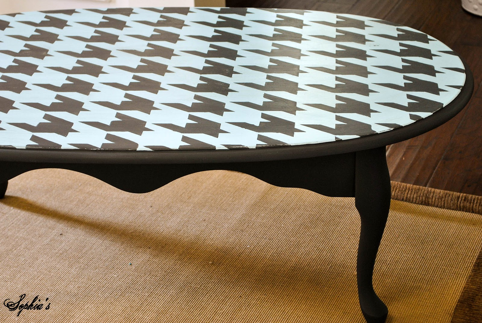 Houndstooth Coffee Table