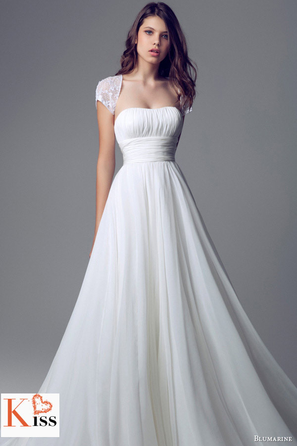 Simple princess 2014 Wedding Dresses Collection From Blumarine