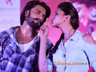 Ranveer-Deepika promoting Ram-leela in Mumbai